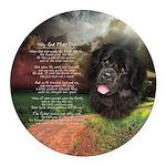 godmadedogs Round Car Magnet