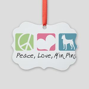peacedogs Picture Ornament