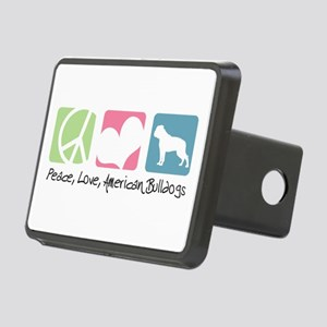 peacedogs Rectangular Hitch Cover