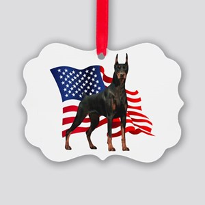 flag Picture Ornament