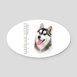 portrait Oval Car Magnet