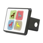 colorblock3 Rectangular Hitch Cover