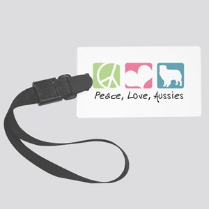 peacedogs Large Luggage Tag
