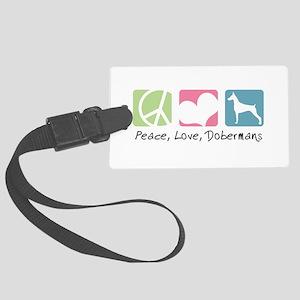 peacedogs Large Luggage Tag