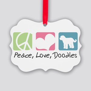 peacedogs Picture Ornament