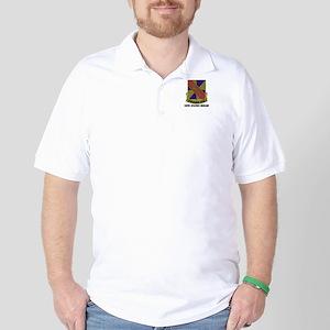 DUI - 159th Aviation Brigade with Text Golf Shirt