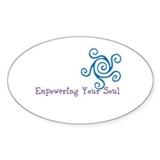 Empowering Your Soul Sticker (Oval)