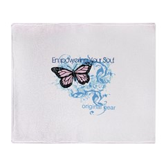 Empowering Your Soul Throw Blanket