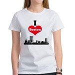 I Love Boston Women's T-Shirt