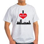 I Love Boston Light T-Shirt