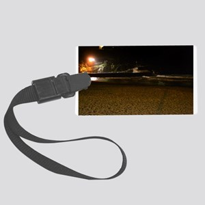 Manly Beach Night Large Luggage Tag