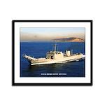 USS LA MOURE COUNTY Framed Panel Print