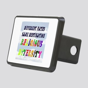 RELIGIOUS DIVERSITY Rectangular Hitch Cover