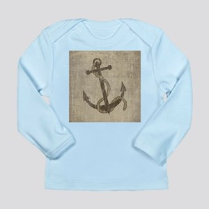 Vintage Anchor Long Sleeve Infant T-Shirt