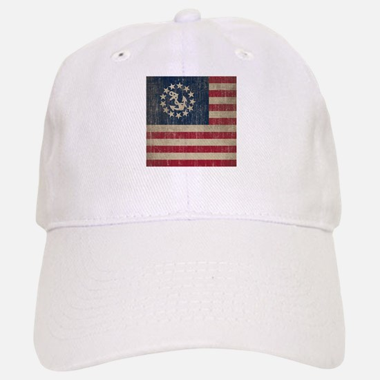 Vintage America Yacht Flag Baseball Baseball Cap
