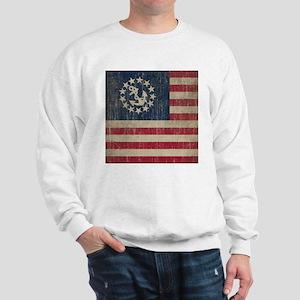 Vintage America Yacht Flag Sweatshirt
