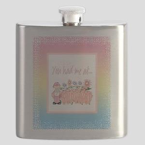 Blanket Cancer Survivor copy Flask