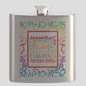 Blanket GH rainbow copy Flask