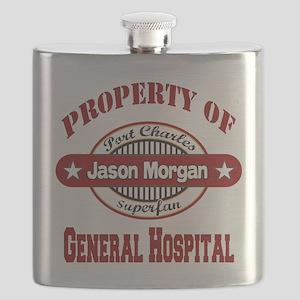 PROPERTY of GH Jason Morgan copy Flask