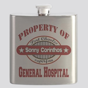 PROPERTY of GH Sonny Corinthos copy Flask