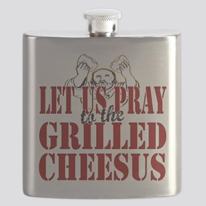 Grilled Cheesus copy Flask