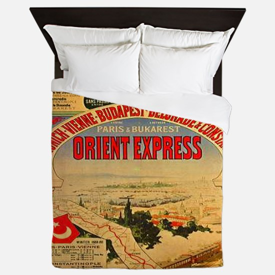 Orient Express Queen Duvet