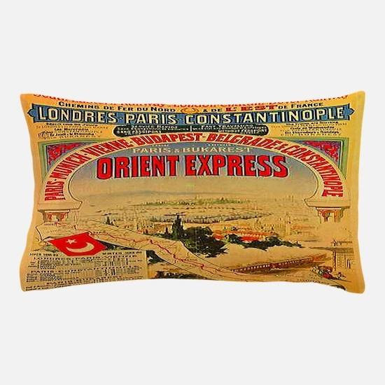 Orient Express Pillow Case