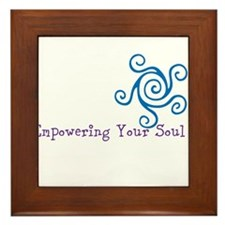 Empowering Your Soul Framed Tile