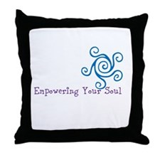 Empowering Your Soul Throw Pillow