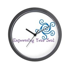 Empowering Your Soul Wall Clock