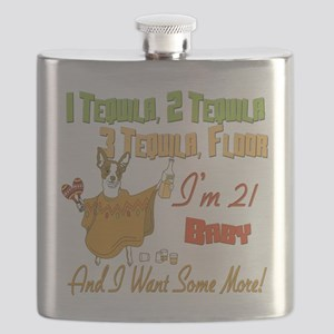 Tequila Birthday 21 Flask