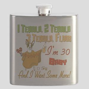 Tequila Birthday 30 Flask