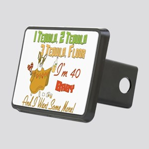 Tequila Birthday 40 Rectangular Hitch Cover