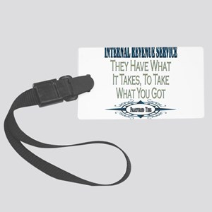 IRS copy Large Luggage Tag