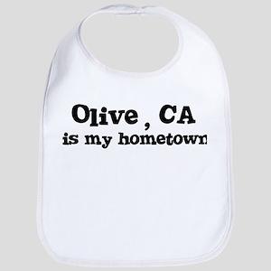 Olive - hometown Bib