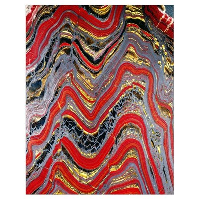 Banded iron formation Poster
