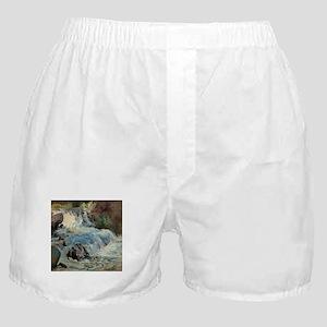 John Henry Twachtman The Waterfall Boxer Shorts