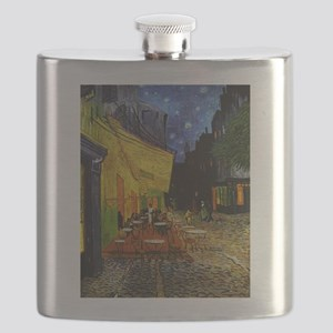 Van Gogh Cafe Terrace At Night Flask