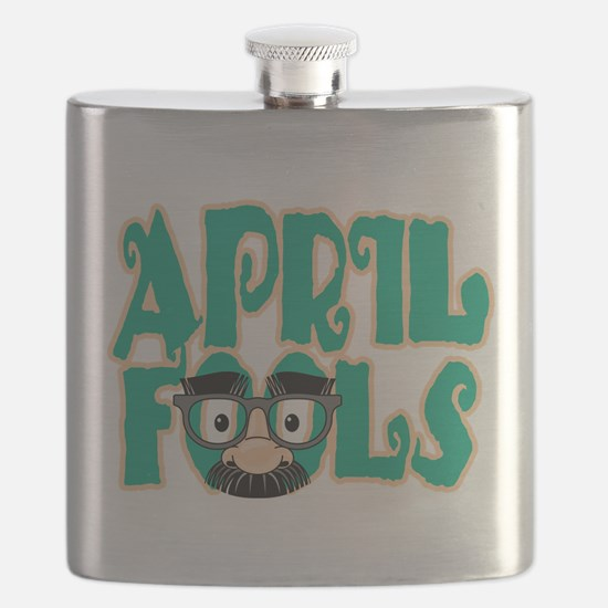 April Fool's Day Flask