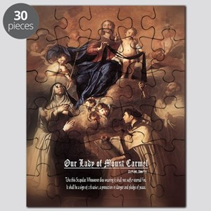 Our Lady of Mount Carmel Novelli Puzzle
