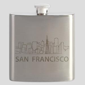 Vintage San Francisco Flask