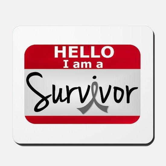 Brain Tumor Survivor 24 Mousepad