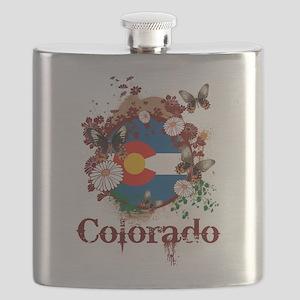 Butterfly Colorado Flask
