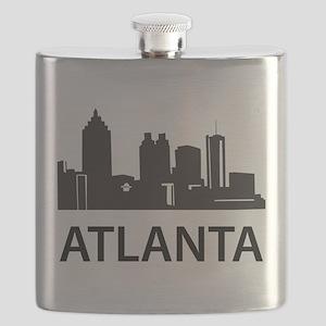 Atlanta Skyline Flask