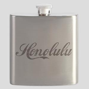 Vintage Honolulu Flask