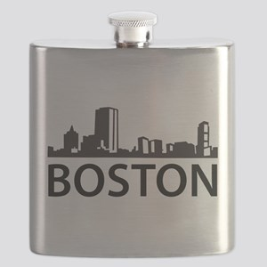 Boston Skyline Flask