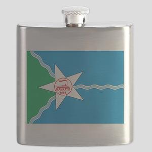 Mankato Flag Flask
