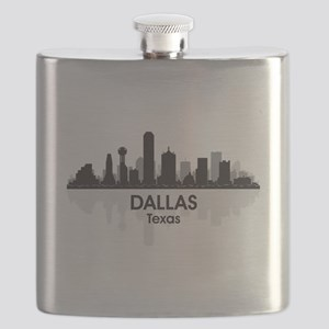 Dallas Skyline Flask