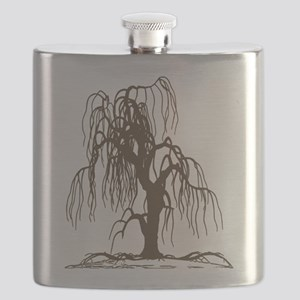 Weeping Willow Tree Flask