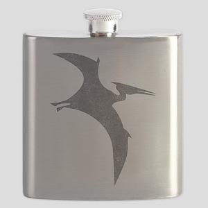 Vintage Pterodactyl Flask